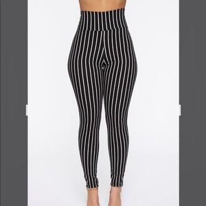 Fashion Nova Striped Pants